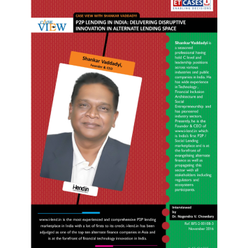 Case View with Shankar Vaddadyi