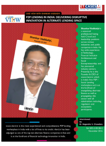 Case View with Shankar Vaddadyi - P2P Lending in India: Delivering Disruptive Innovation in Alternate Lending Space