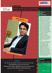 Managing Brand Equity in the Digital Age: Croma's Omni-Channel Retailing